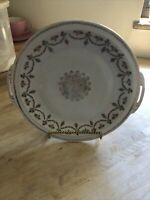 Prussia Crown Mark B, hand painted 2 Handled Plate Tray Platter