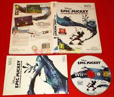 EPIC MICKEY LA LEGGENDARIA SFIDA DI TOPOLINO Nintendo Wii Ita 1ª Ed ○ USATO - GC