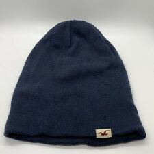 Hollister Blue Slouch Winter Beanie Ski Cap Hat