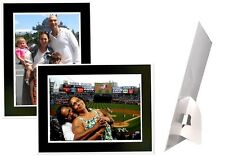 4x6/6x4 Black with White Trim Event Photo Easels - Pack of 25