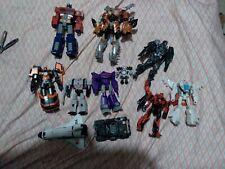 transformers lot. Gobots, generations, cyberverse, studio series, and gundam