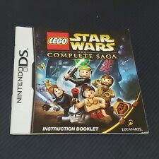 LEGO Star Wars The Complete Saga Nintendo DS  MANUAL ONLY NO GAME OR CASE