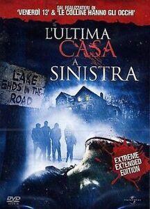 Dvd L'ULTIMA CASA A SINISTRA - (2009) Horror......NUOVO