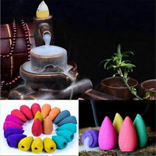 9 Styles Natural Aroma Bullet Tower Incense Fragrance Buddhism Backflow Cone
