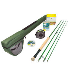 Redington Vice 790-4 Fly Rod Outfit w/ i.D Reel : 7wt 9'0""
