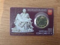 Coincard 50 Centimes Euro Vatican 2013 Numéro 4