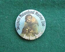 Skegness Nature Marine ZooSeals Pin Badge - Souvenir - Lincolnshire, UK