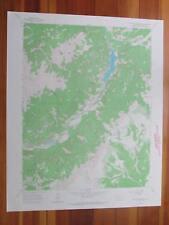 Lake San Cristobal Colorado 1967 Original Vintage USGS Topo Map