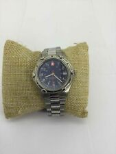 Wenger Stainless Steel Blue Dial Wrist Watch