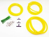 300ZX Silicone Vacuum Hose Kit 84-89 Yellow