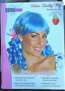 BLUEBERRY MUFFIN Wig Secret Wishes STRAWBERRY SHORTCAKE Friend Halloween Costume