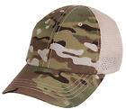 tactical multicam camo hat baseball cap ballcap mesh back rothco 99554