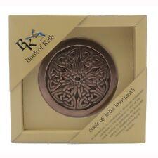IRISH Bronze Book of Kells Knotwork Made in Ireland by Wild Goose Studio