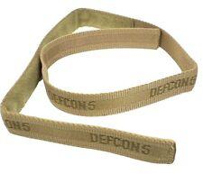 CINTURA SOFTAIR IN CORDURA VELCRO TAN DEFCON 5 airsoft TACTICAL belt D5-BE/VE