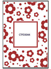 """Crafts Too Embossing Folder """"Flower Frame"""" Ctfd3044 For Scrapbooking And Cards"""