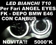 1 LAMPADINA LED CAN-BUS T10 W5W BIANCO 5000K per fari ANGEL EYES BMW E46 DEPO FK
