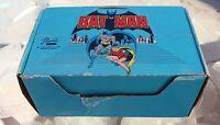 "Vintage Display Box 17 Batman & 5 Robin 3"" Figures Birthday Cake Party Favors"