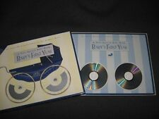 A VERY SPECIAL BABY BOOK BABY'S FIRST YEAR (NIB) INCLUDES 101 LULLABIES ON 2 CDS
