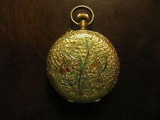 Antike Damen Taschenuhr 3 Deckel 750er Gold 18K um1900  20,4g (leider Defekt!)