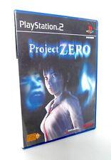 PROJECT ZERO Sony Playstation 2 PS2 FR