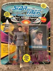 New Playmates Toys Ambassador Spock Action Figure 1993 Sealed W/ Accessories