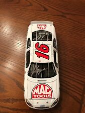 NASCAR 1/24 autographed diecast Team Caliber Kevin LePage & Jack Roush MAC Tools