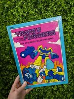 The Autobots' Secret Weapon The Transformers Hardback Book 1985