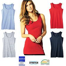 64052c0e0644 Esmara Damen TOP Longtop Shirts Achselshirt Longshirt Tank Top Long