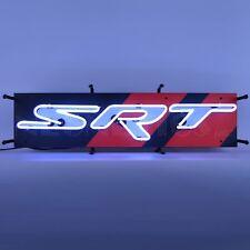 "Dodge Srt Junior Viper Neon Sign Car Dealer Banner Neon Light Sign 28"" by 9"""