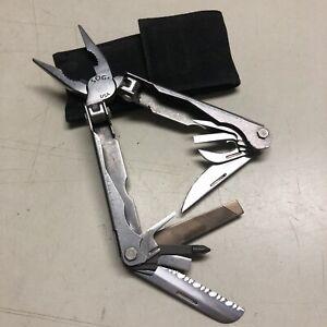Vintage SOG Paratool Multitool Pliers Tactical Pocket Knife Folder Tools