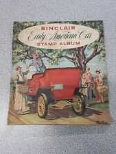 Vintage Gas & Oil Service Station Sinclair Early American Car Stamp Album