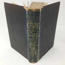 1850 ELEMENTS of CHEMISTRY for the Use of Schools 1st ed HC by John Johnston, MA