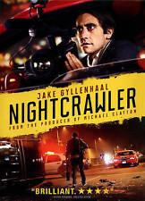 Nightcrawler (DVD, 2015) JAKE GYLLENHAAL IS SCARY USED VERY GOOD