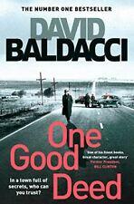 Baldacci, David, One Good Deed, Very Good, Paperback