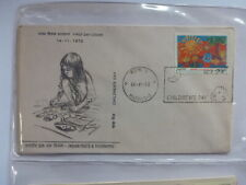 INDIA 1973 CHILDRENS DAY FDC FIRST DAY COVER MADRAS