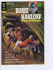 Boris Karloff Tales of Mystery #53 Gold Key 1974