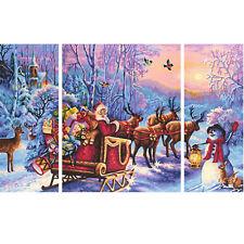 Schipper 609260758 Der Weihnachtsmann kommt Malen nach Zahlen Weihnachtsbild 17
