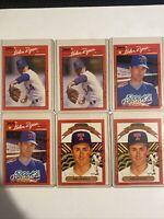 1990 Donruss Nolan Ryan Texas Rangers #659 Baseball Card Lot (6)