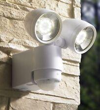LED Strahler mit Bewegungsmelder Wandstrahler Außenleuchte Spot 127-1, Weiß