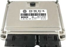 COMPUTER VW POLO 038906012HL 0281011319 IMMO OFF /  WARRANTY!