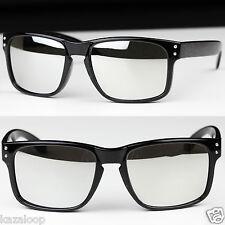 New Mens Rectangle Shield Sports Casual Sunglasses UV400
