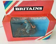 New listing Britains German Army Dispatch Rider No.9679 in Original Box 1/32-54mm