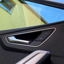 Audi Q2 GA SLine Dekor Türöffner innen vorne Zierblende Aluminium Blende