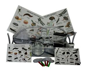 Mega Mini-beast,Pond Dipping Kits Including,Bug Pots,Dipping Nets,Pooters etc