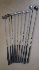 Set of 10 Golf Clubs - 5 x Irons, 2 x Woods, 2 x Wedges, 1 x Putter