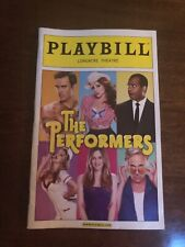 The Performers November 2012 Broadway Playbill