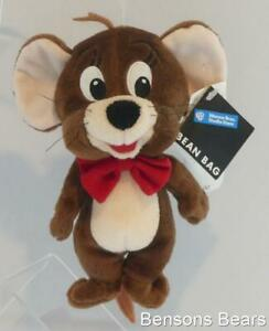 Warner Brothers Store Hanna Barbera Jerry Mouse Bean Bag Plush 22cms With Tags