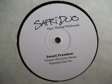 "SAFRI DUO - SWEET FREEDOM - 12"" RECORD / VINYL - NOT ON LABEL"