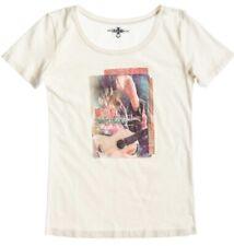 Roxy T-Shirt Good Looking Flag naturweiß mit Druck Damen NEU
