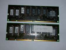 IBM 13M16734BCC-360T 128MB PC100 ECC SDRAM 168P, D6098-63001 (2x)